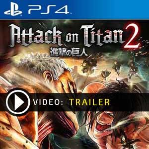 Attack on Titan 2 PS4 en boîte ou à téléchargerx