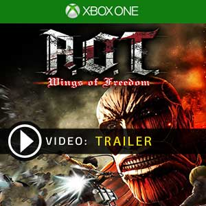 Attack on Titan Wings of Freedom Xbox One en boîte ou à télécharger