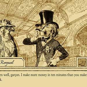 Rorguiel gagne plus d'argent