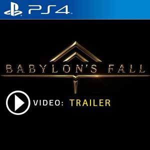 BABYLON'S FALL PS4 en boîte ou à télécharger