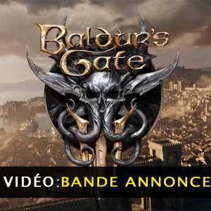 Vidéo de la bande annonce de Baldurs Gate 3