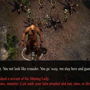 Scénario de Baldurs Gate Siege of Dragonspear avec choix de dialogue