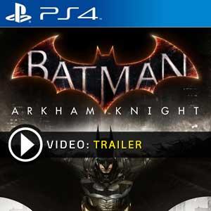 Batman Arkham Knight PS4 en boîte ou à télécharger
