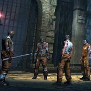 Batman Arkham Origins Blackgate Gameplay