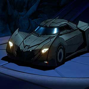 Batman The Telltale Series Batcave et Batmobile