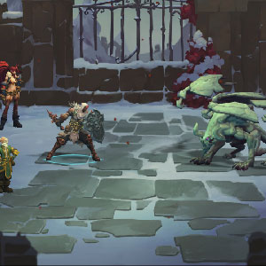 Battle Chasers Nightwar Gameplay