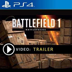 Battlefield 1 Battlepack PS4 en boîte ou à télécharger