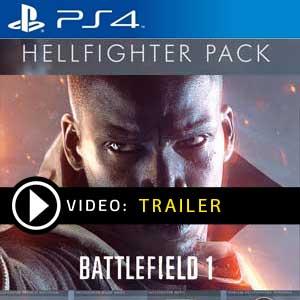 Battlefield 1 Hellfighter Pack PS4 en boîte ou à télécharger