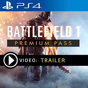 Battlefield 1 Premium Pass PS4 en boîte ou à télécharger