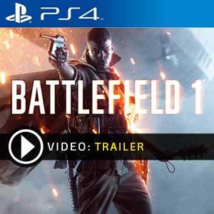 Battlefield 1 PS4 en boîte ou à télécharger