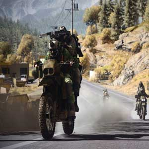 Battlefield 3 End Game Dirtbike On the road