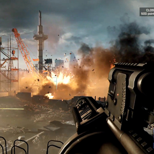 Battlefield 4 PS4 Combat