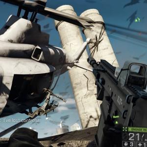 Battlefield 4 PS4 Air Bataille