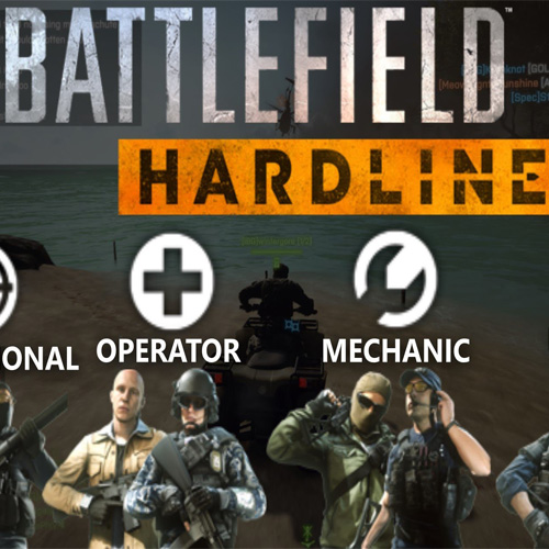 Les Classes de Battlefield Hardline