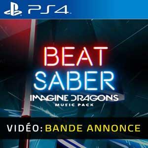 Beat Saber Imagine Dragons Music Pack Bande-annonce vidéo pour PS4
