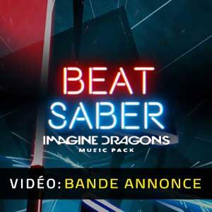 Beat Saber Imagine Dragons Music Pack Bande-annonce vidéo