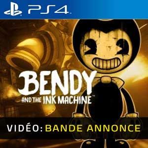 Bendy and the Ink Machine PS4 Bande-annonce Vidéo