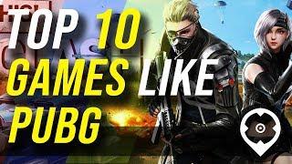 10 meilleurs jeux comme PUBG