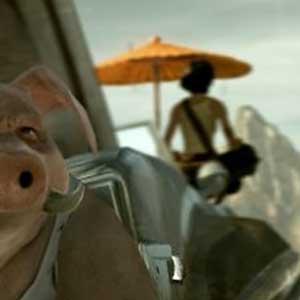 Cochon hybride - ZHOU YUZHU