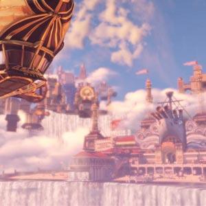 Bioshock Infinite Ballon Gameplay