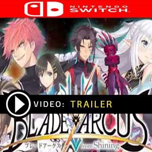 Blade Arcus Rebellion from Shining Nintendo Switch en boîte ou à télécharger