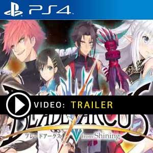 Blade Arcus Rebellion from Shining PS4 en boîte ou à télécharger