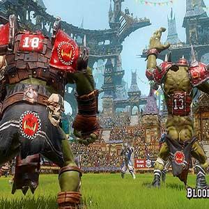 Blood Bowl 2 Orcs versus Elves