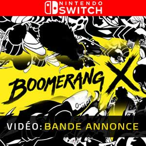 Boomerang X Nintendo Switch Bande-annonce Vidéo