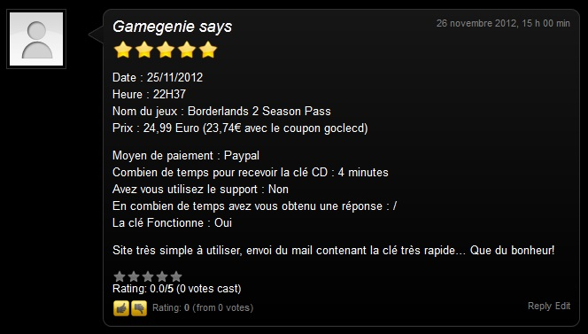 borderlands 2 season pass clé cd gratuit