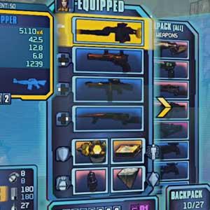 Borderlands 2 Gibbed Weapon Slots