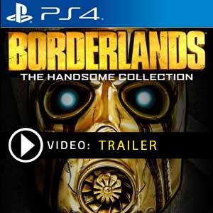 Borderlands The Handsome Collection Ps4 en boîte ou à télécharger