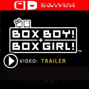 BOXBOY! + BOXGIRL! Nintendo Switch en boîte ou à télécharger
