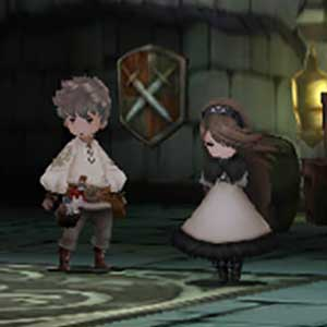 Bravely Default Nintendo 3DS Personnages