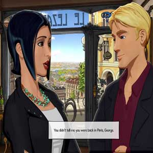 Broken Sword 5 The Serpents Curse George et Nico