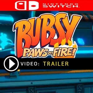 Bubsy Paws on Fire Nintendo Switch en boîte ou à télécharger