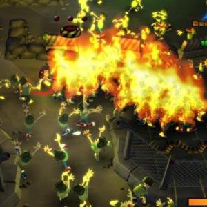 Burn Zombie Burn Combat