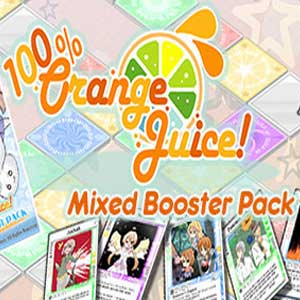 100% Orange Juice Mixed Booster