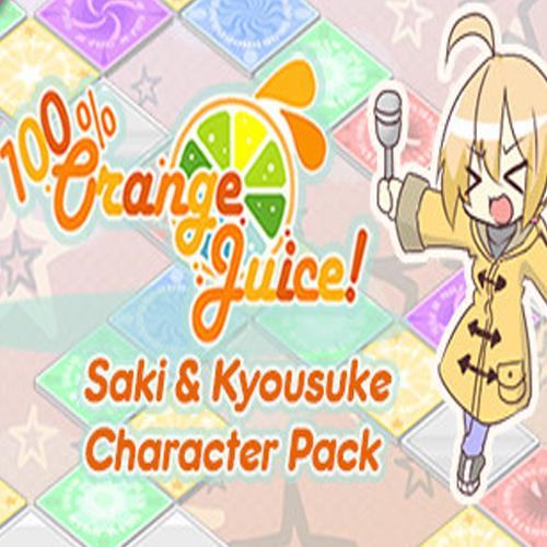 Acheter 100% Orange Juice Saki & Kyousuke Character Pack Clé Cd Comparateur Prix