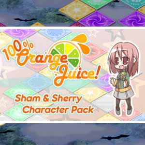 100% Orange Juice Sham and Sherry Character Pack
