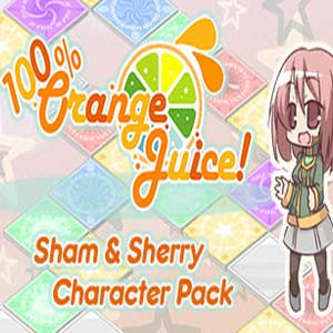 100% Orange Juice Sham & Sherry Character Pack