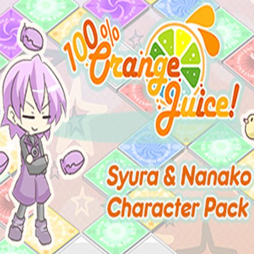 Acheter 100% Orange Juice Syura & Nanako Character Pack Clé Cd Comparateur Prix