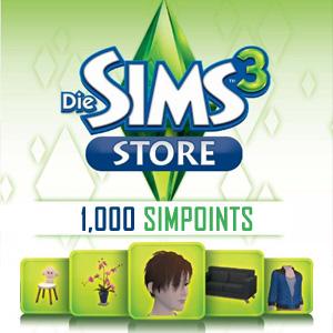 Acheter 1000 SIMPOINTS Gamecard Code Comparateur Prix