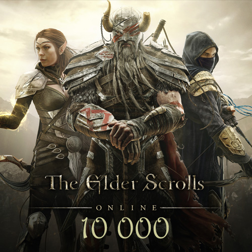 Acheter 10000 The Elder Scrolls Online Gamecard Code Comparateur Prix