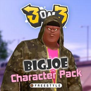 3on3 FreeStyle Big Joe Character Pack