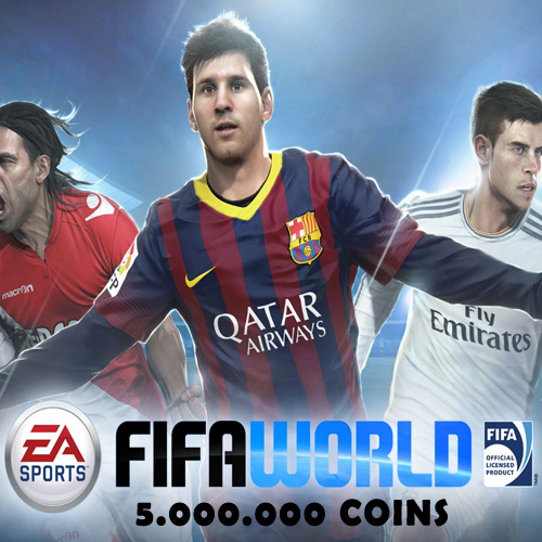 Acheter 5.000.000 FIFA World Coins Gamecard Code Comparateur Prix