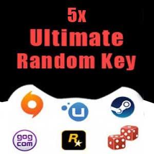 5 Ultimate Random Keys