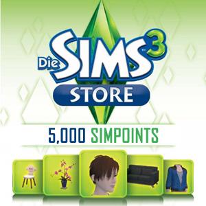 Acheter 5000 SIMPOINTS Gamecard Code Comparateur Prix