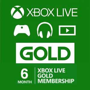 Acheter 6 Mois Gold Xbox Live Code Comparateur Prix
