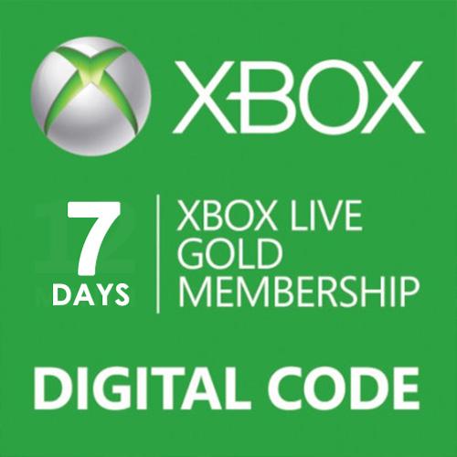 Acheter 7 Jours D'abonnement Xbox Live Gold Code Comparateur Prix
