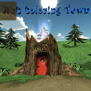 ABC Coloring Town 2